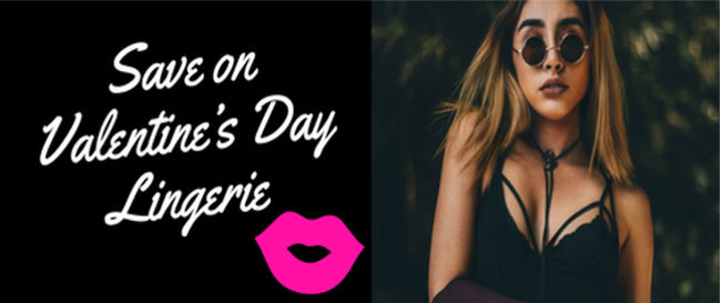 12 Stores to Save on Valentine's Day Lingerie