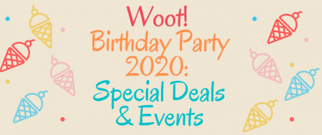 Woot! Birthday Party 2020: Special Deals & Events